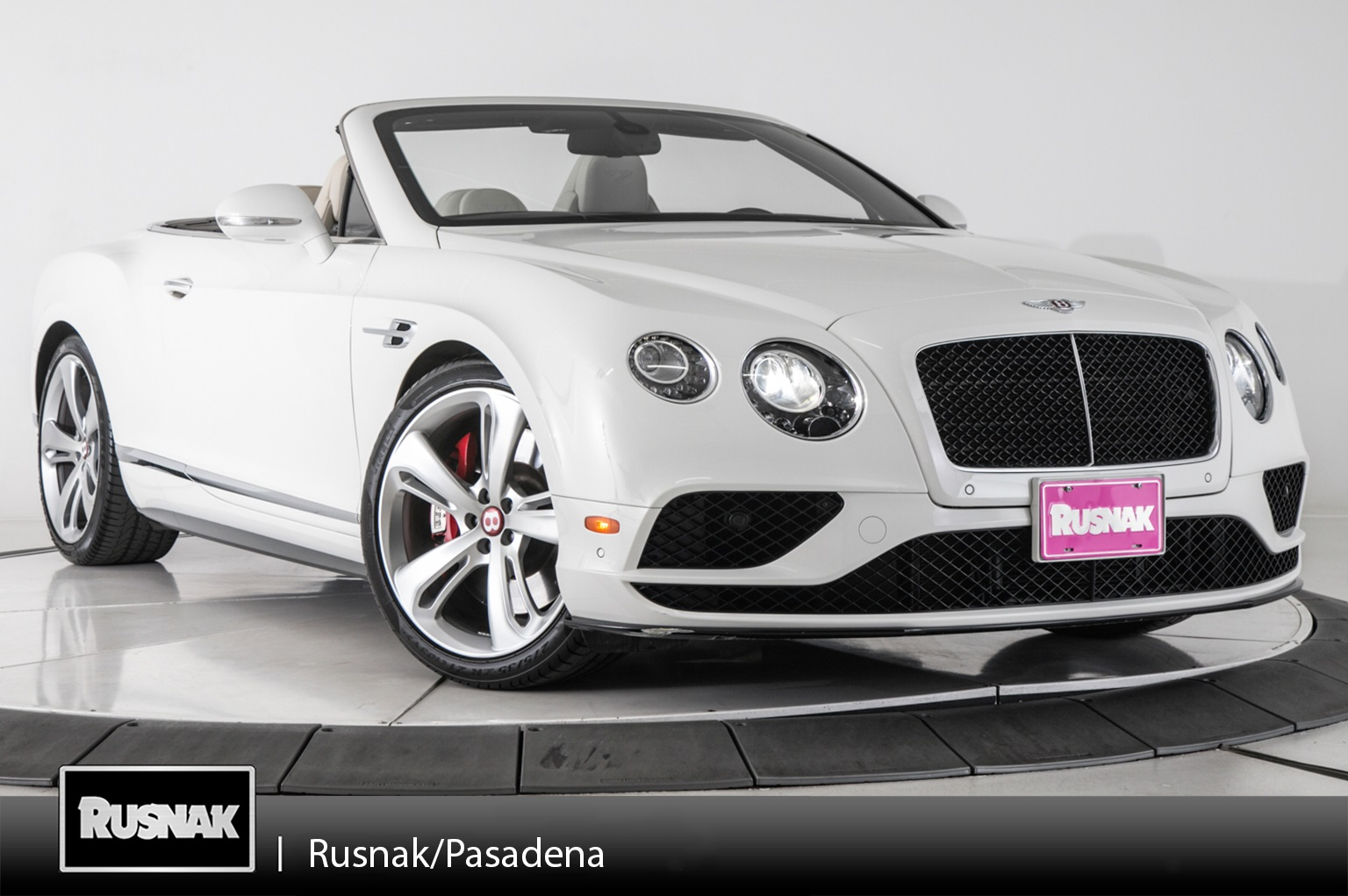 Certified Pre-Owned 2016 Bentley Continental GTC V8 S Convertible