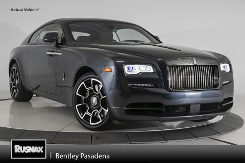 Pre-Owned 2019 Rolls-Royce Wraith Black Badge