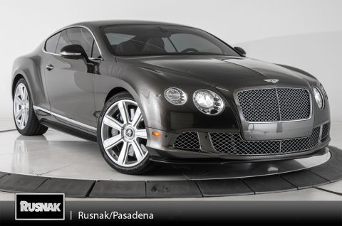 Pre-Owned 2012 Bentley Continental GT Base
