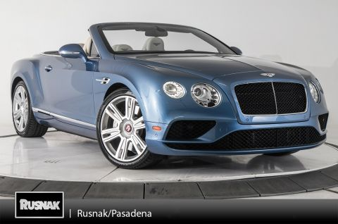 Certified Pre-Owned 2016 Bentley Continental GTC V8 Convertible