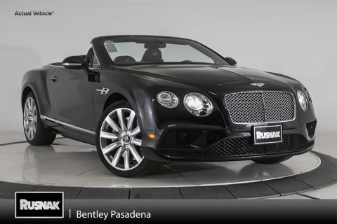 Certified Pre-Owned 2016 Bentley Continental GTC V8