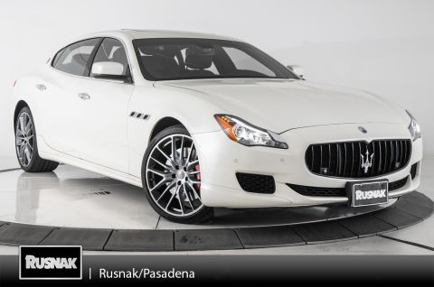 Certified Pre-Owned 2016 Maserati Quattroporte GT S